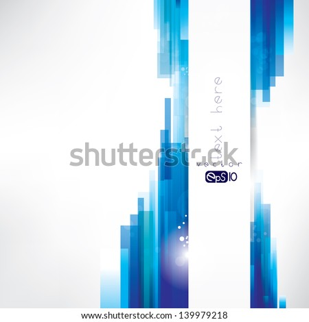 Abstract  background with place for text - stock vector