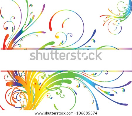 Abstract background with place for text/Vector illustration