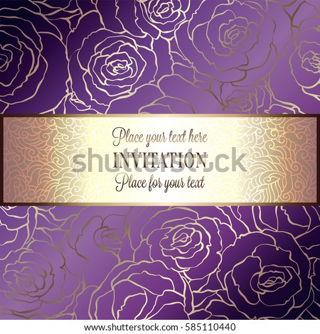 gold and purple border stock images royaltyfree images