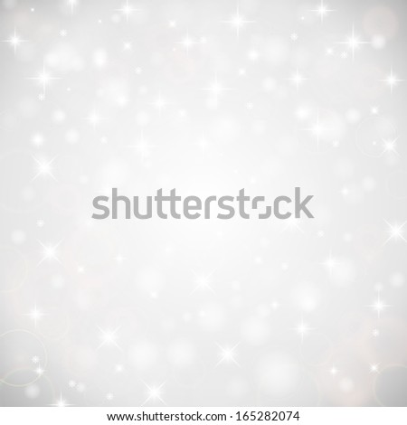 Abstract background with snowflakes. Vector illustration.  - stock vector