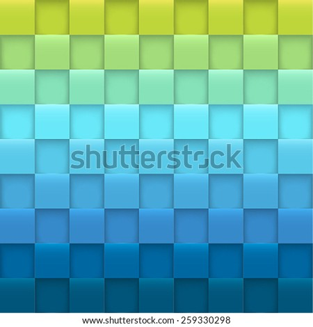 Abstract background with squares. Vector illustration. - stock vector