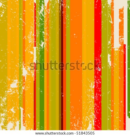 Abstract background with stripes in grunge