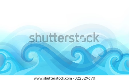abstract background with stylized waves