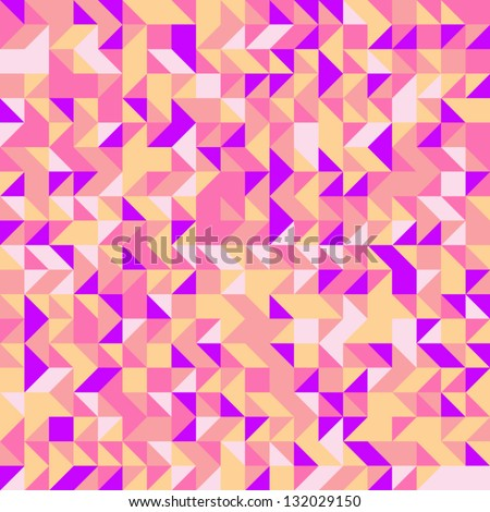 Abstract background with triangles. Geometric pattern. Vector eps 10.