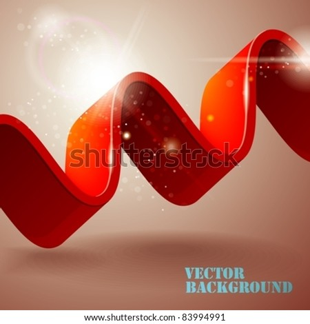 abstract background with wave. eps10 - stock vector
