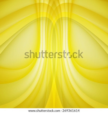 Abstract background yellow lines. Vector. Clip-art - stock vector