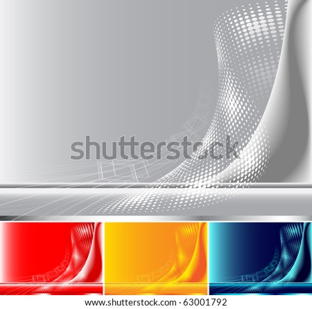 Abstract backgrounds. - stock vector