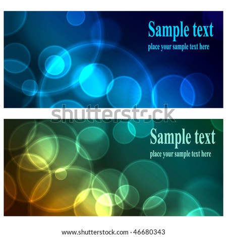 Abstract backgrounds. Vector Illustration - stock vector