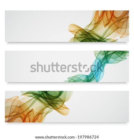 Abstract banner. EPS10 vector - stock vector