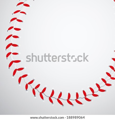 abstract baseball ball texture making a special background
