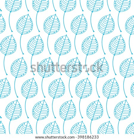 Abstract beautiful flowers background from blue petals. Vector