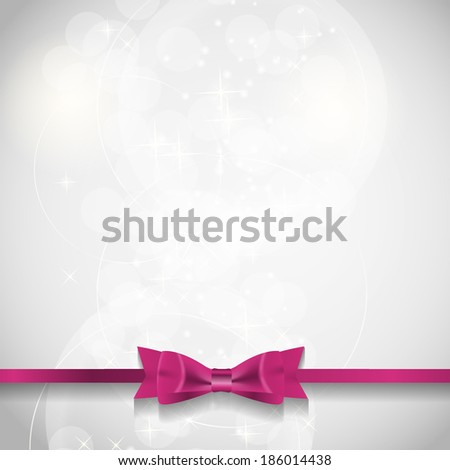 Abstract Beauty Background. Vector Illustration - stock vector