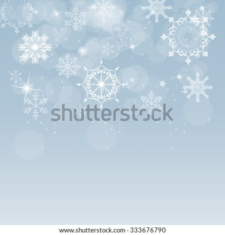 Abstract Beauty Christmas and New Year Background. Vector Illustration. EPS10 - stock vector