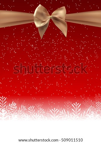 Abstract Beauty Christmas and New Year Background. Vector Illustration EPS10