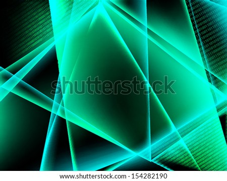 Abstract binary code background. Vector illustration - stock vector