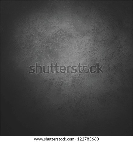 abstract black background vector, old black vignette border frame on white gray background, vintage grunge background texture design, black white monochrome background for printing brochure paper ads - stock vector