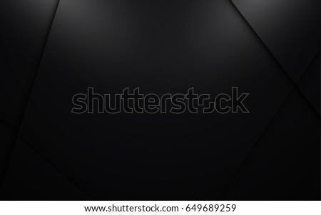Abstract Black Modern Wallpaper Background Template