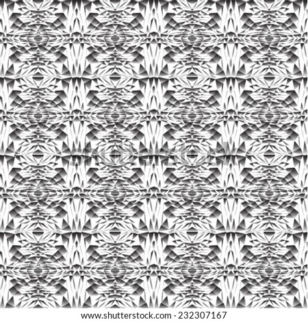 Abstract black-white background.Vector illustration. Seamless pattern.