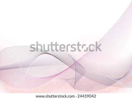 Abstract blended vector background