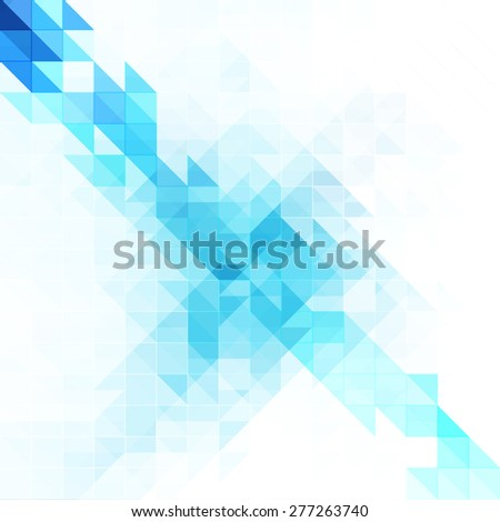 Abstract blue background design - stock vector