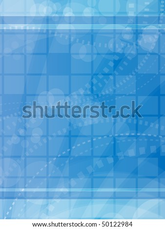 Abstract Blue Background eps10