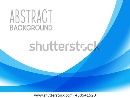Abstract blue background for Your design