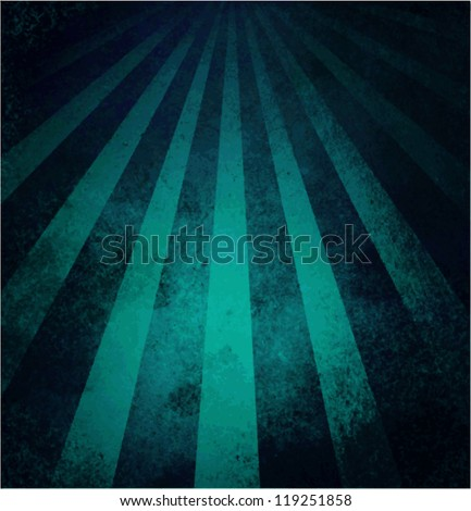 abstract blue background retro striped layout with old distressed vintage grunge background texture pattern for web design side bar banner or scrapbook for birthday celebration, blue vector background - stock vector