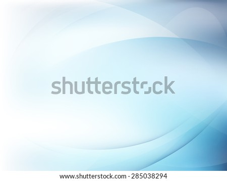 Abstract blue background, wave or veil texture. EPS 10 vector file included - stock vector