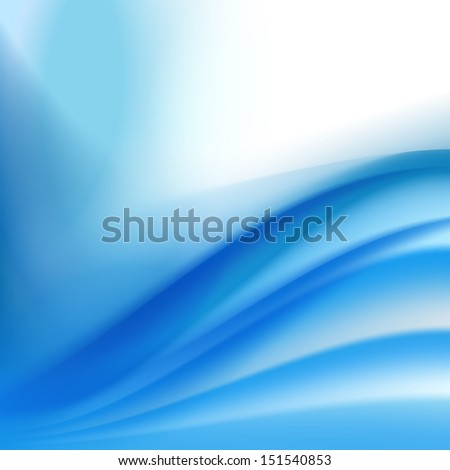 abstract blue background with folding waves