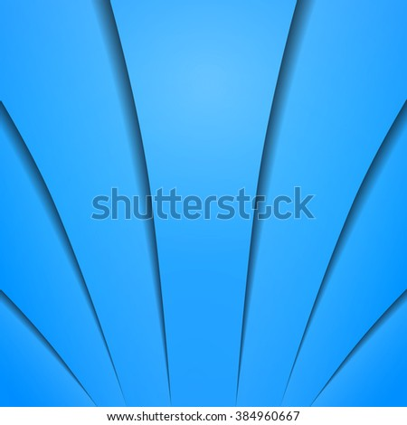Abstract blue background with space for your text