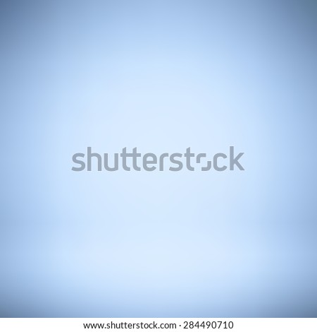 Abstract blue gradient vector background. - stock vector