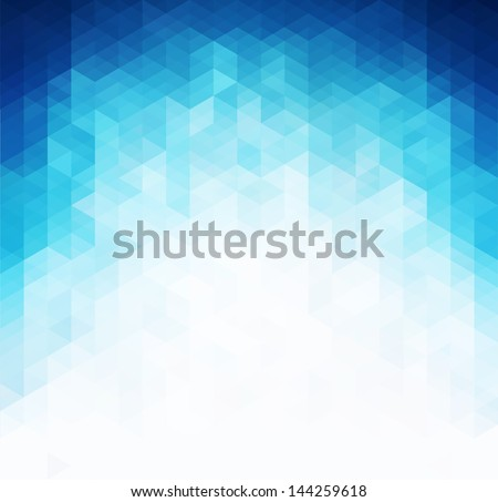 Abstract blue light template background - stock vector
