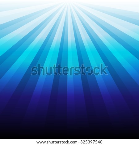 abstract blue luminous  background.illustration vector. - stock vector