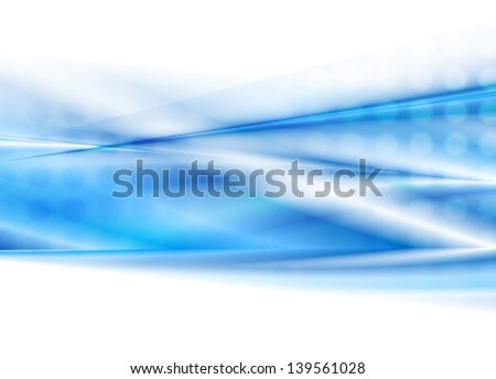 Abstract blue modern background. Vector template eps 10 - stock vector