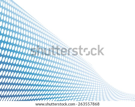 abstract blue spotted background - stock vector