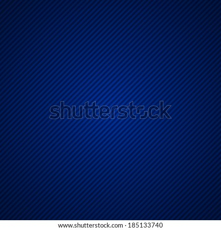 Abstract blue striped background - stock vector