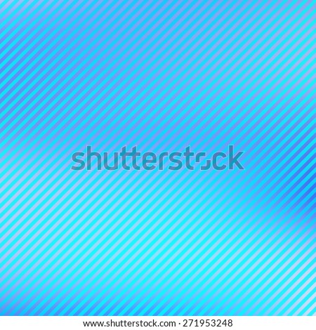 Abstract blue striped pattern with diagonal stripes. Graphic vector background - stock vector