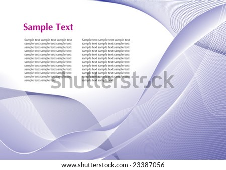 Abstract blue template with copy space