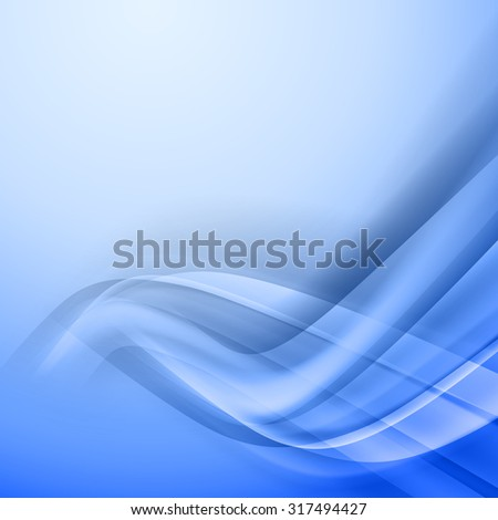 Abstract blue vector background.  Corner from light and shadow