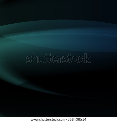 abstract blue vector background with blending colors, blur lines and gradient