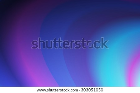 Abstract blue wave background.  Vector illustration - stock vector