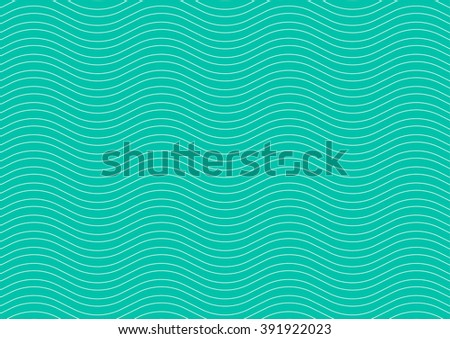 Abstract blue wave pattern.