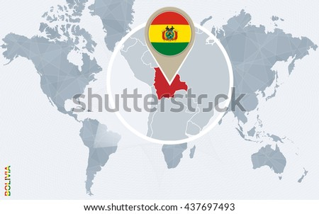 Bolivia Flag Stock Images RoyaltyFree Images Vectors - Map of bolivia world