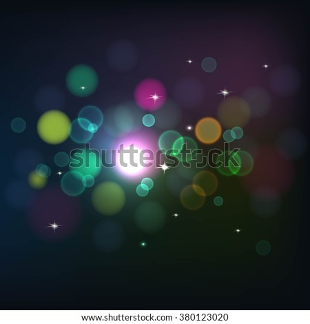 Abstract blur de focus background   vector
