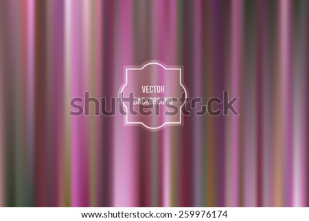 Abstract blurred  background. Vector illustration of soft colored abstract background. Raspberry; cherry color - stock vector