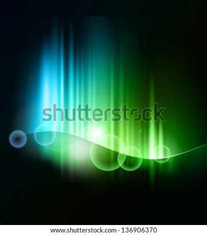Abstract blurred light background - stock vector