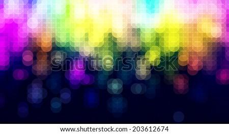 Abstract blurred lights celebration background & banner design, ideal for beauty & fashion concept works. - stock vector