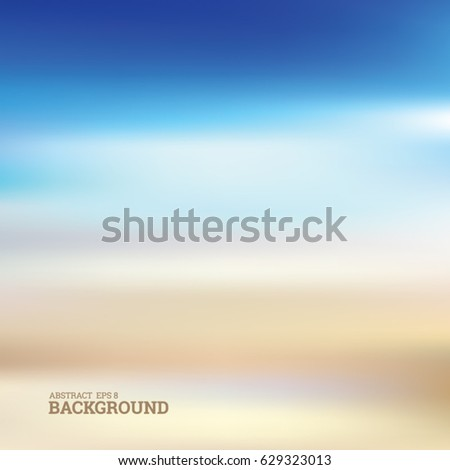 Abstract Blurred Summer Outdoor Background Stock Photo Photo