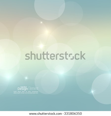 Abstract blurred vector background with sparkle stars. For decorations for Merry Christmas, New Year, anniversaries, festivals, birthday, xmas, glamour holiday, illuminated, celebration - stock vector