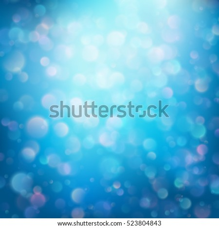 Abstract bokeh background. EPS 10 vector file included
